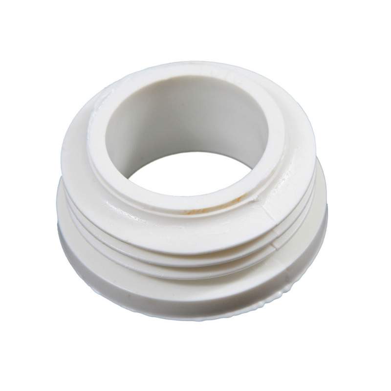 Rubber flush pipe connector