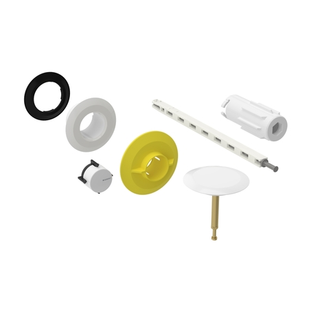 Geberit Service Set Trim Parts For Push Control Bathtub