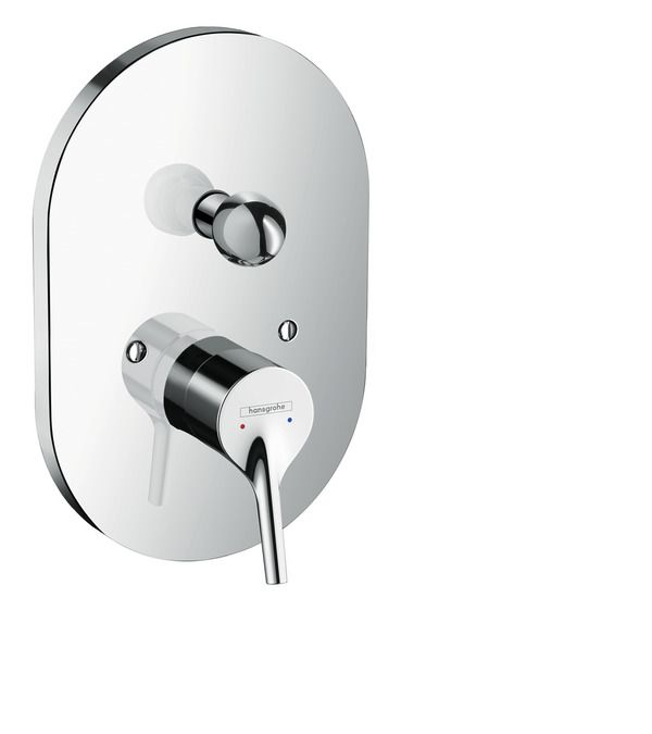 Hansgrohe Talis S Single Lever Bath Mixer For Concealed