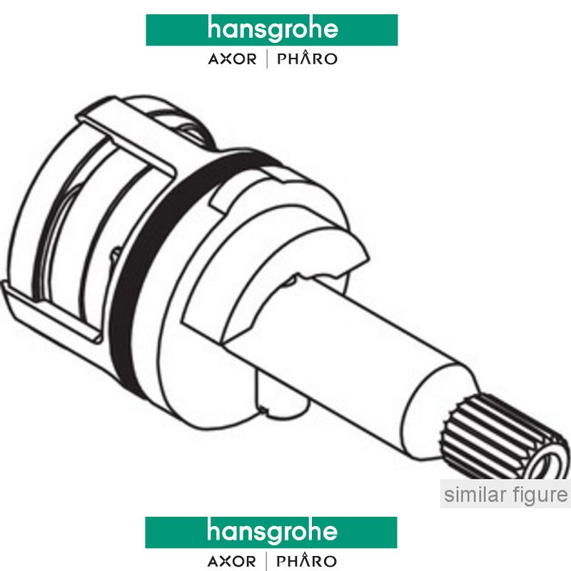 Hansgrohe shut off unit with selector 97327000