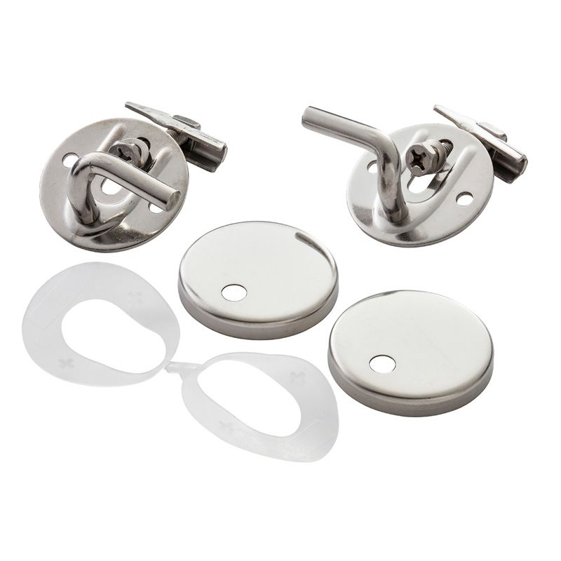 Armitage shanks contour 21 seat hinges top fix chrome sv818aa for B q bathroom accessories