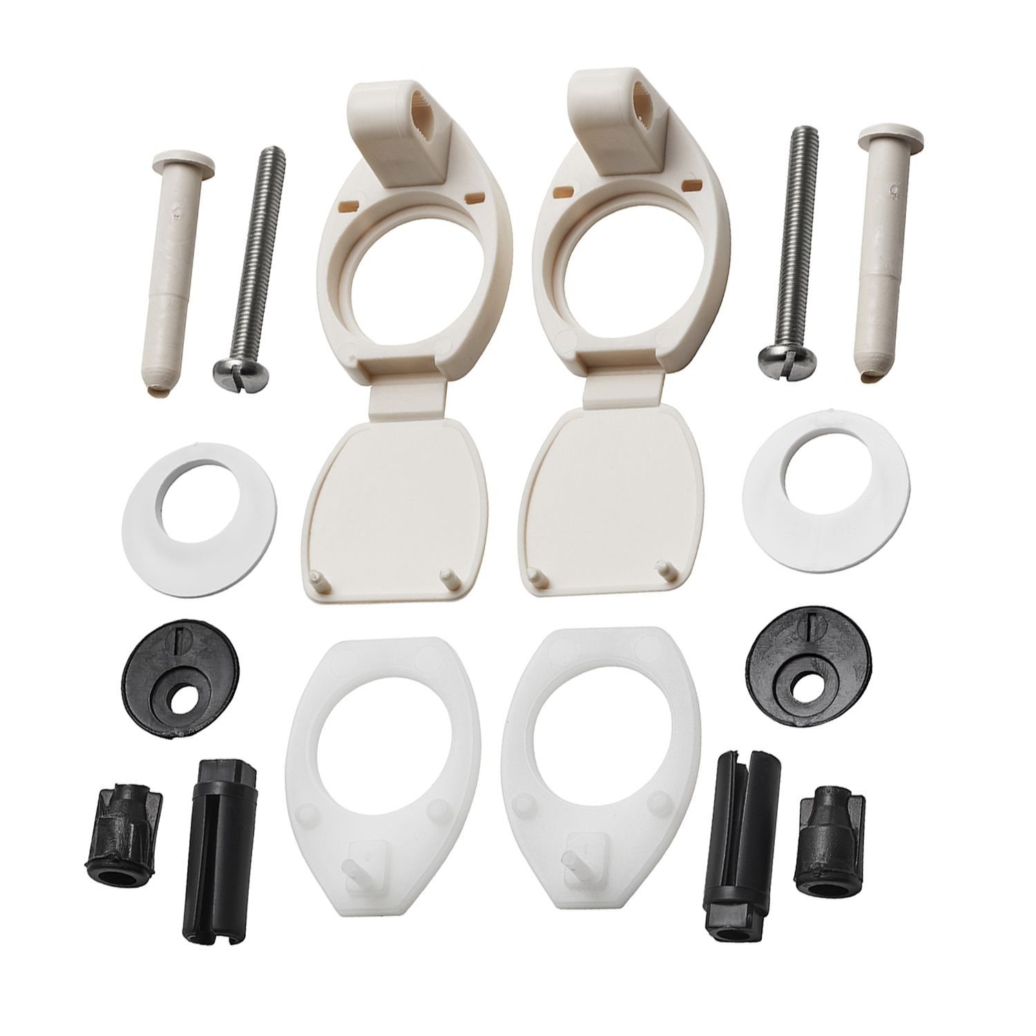 Armitage Shanks Orion Seat Hinges Pillars Included Chablis S972720