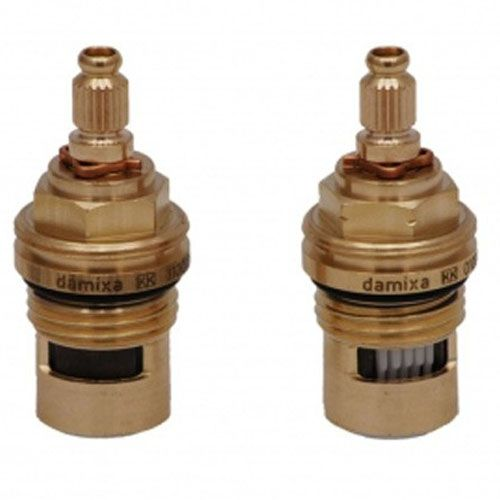"Bristan 1/4 Turn 1/2"" Cold & Hot (Pair) CD Valves 23924"