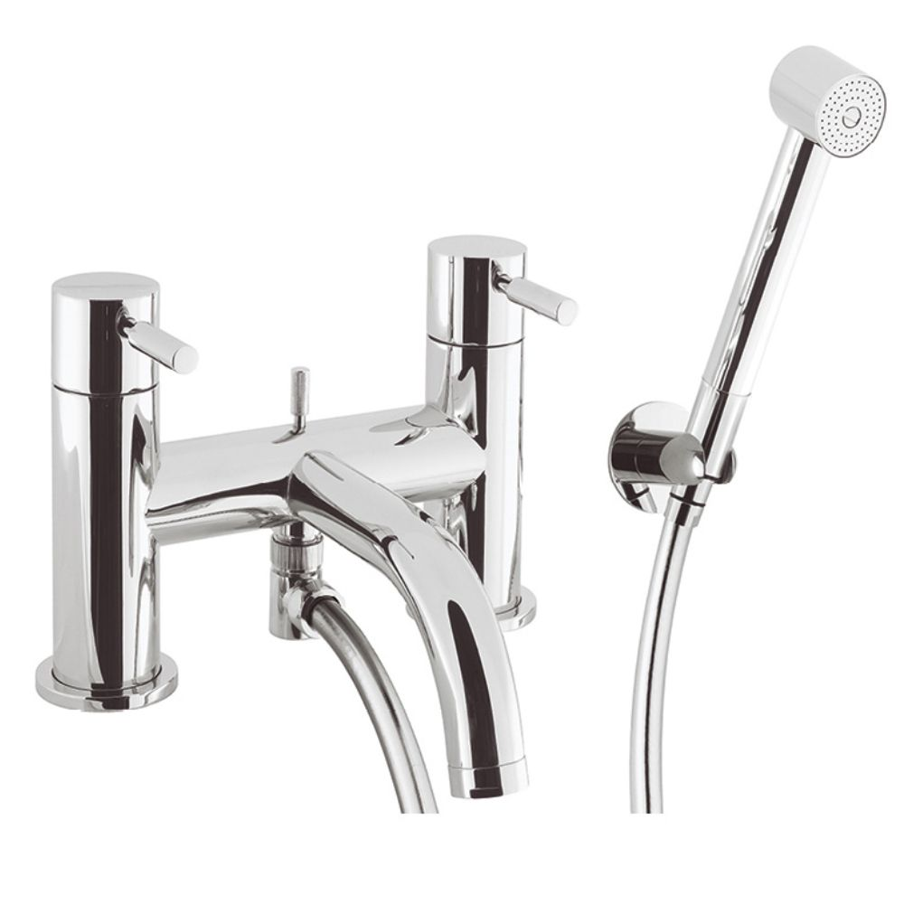 Crosswater Design Bath Shower Mixer With Kit Tap DE422DC