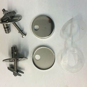 Duravit Happy D 2 Toilet Seat Hinge Set 0061631000