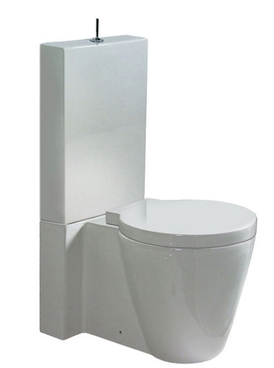 Duravit Starck  1 Replacement Internal Plastic Cistern With Lever Flush Lever 0074173900 105194 P