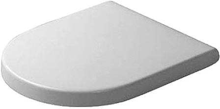 Duravit Starck 3 Series Toilet Seat & Cover Soft Close 0063890000