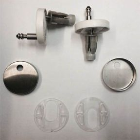 Duravit Starck 3 Soft Close Toilet Seat Hinge Set 0061621000