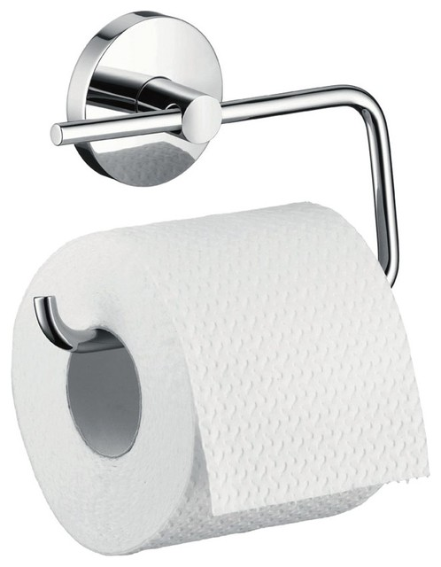 Hansgrohe Logis Toilet Roll Holder Chrome 40526000