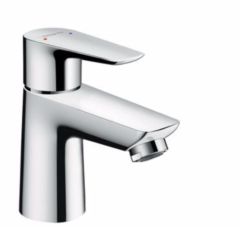 Hansgrohe Talis E Single lever basin mixer 80 without waste set ...