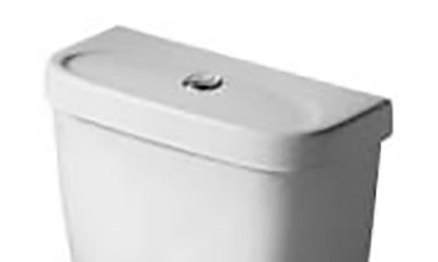 Ideal Standard Toilet : Ideal standard button operated toilet cistern lid white s