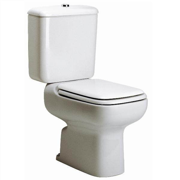 Ideal Standard Michelangelo Toilet Seat And Cover White