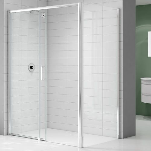 Ionic Express 1700mm Left Low Level Access Sliding Shower