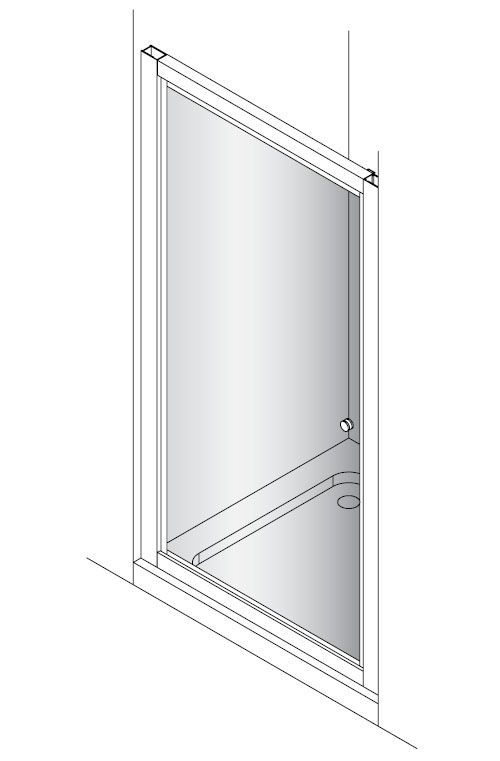 Simpsons Edge Bifold Shower Door 900mm EBFSC0900 Spare Parts