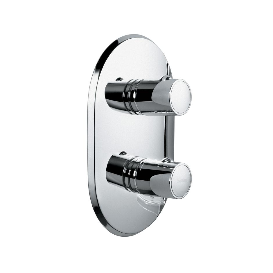 Sottini Celano Dual Control Built-In Thermostatic Shower Valve - No ...
