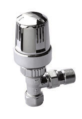 Utima old style Thermostaic Valve Angled.ULT 11221
